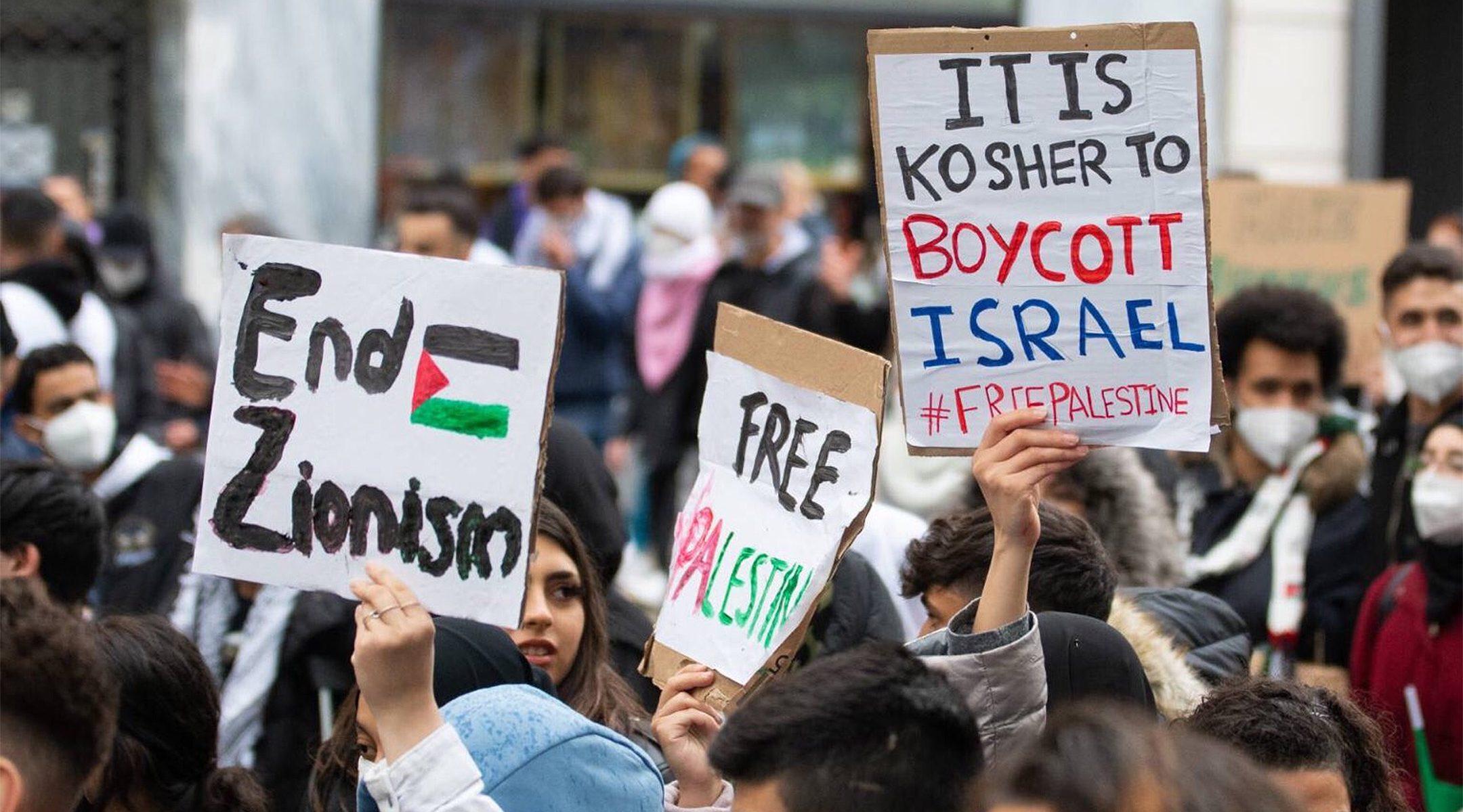 A brit zsidók attól tartanak, hogy a gázai tüntetések miatt megnő az antiszemitizmus