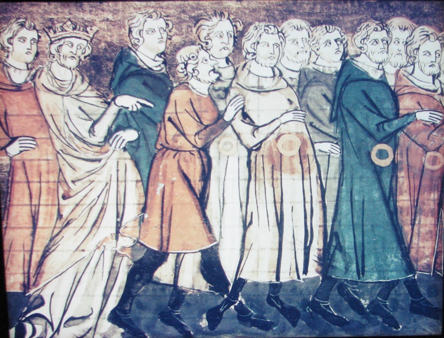 715 éve űzték el a francia zsidókat
