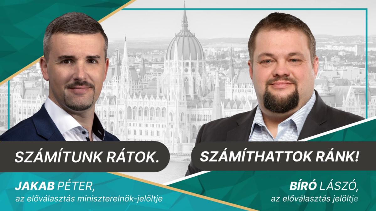 László Bíró became Jobbik's candidate in the Szerencs pre-election