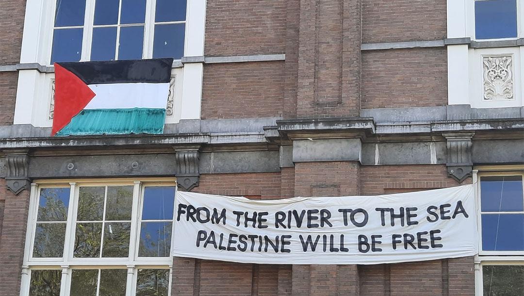Eltörölték volna Izraelt a holland egyetemen, végül a vezetés lépett közbe