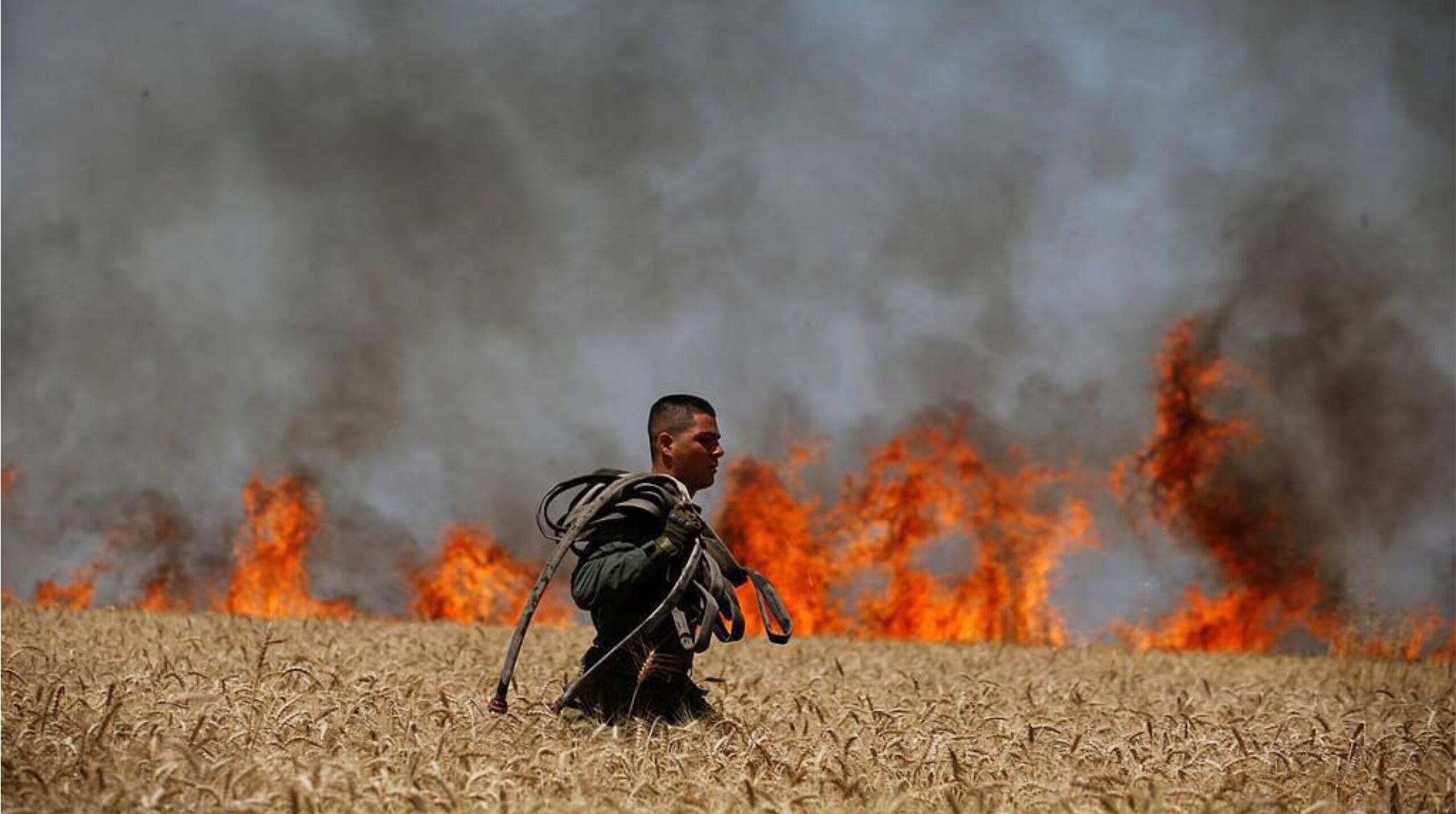 Az izraeli hadsereg légicsapást hajtott végre a Gázai övezetben, válaszul a léggömb terrorra