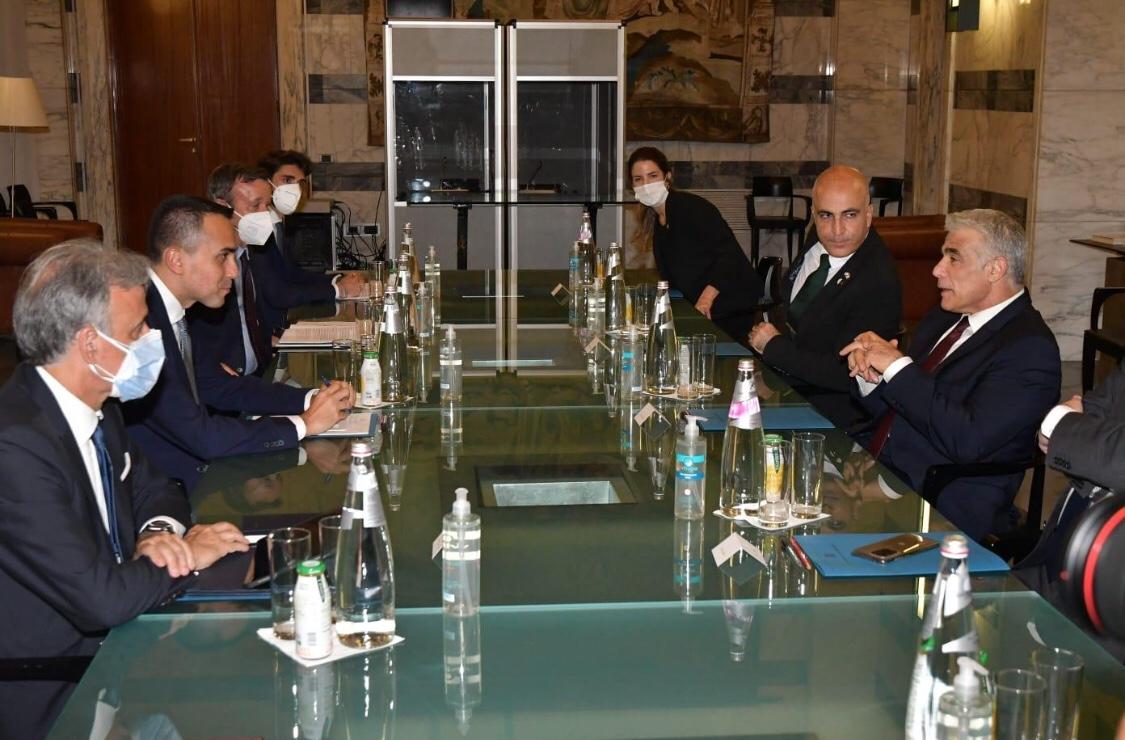 Lapid Rómában: komoly fenntartásaink vannak az iráni atomalkuval kapcsolatban
