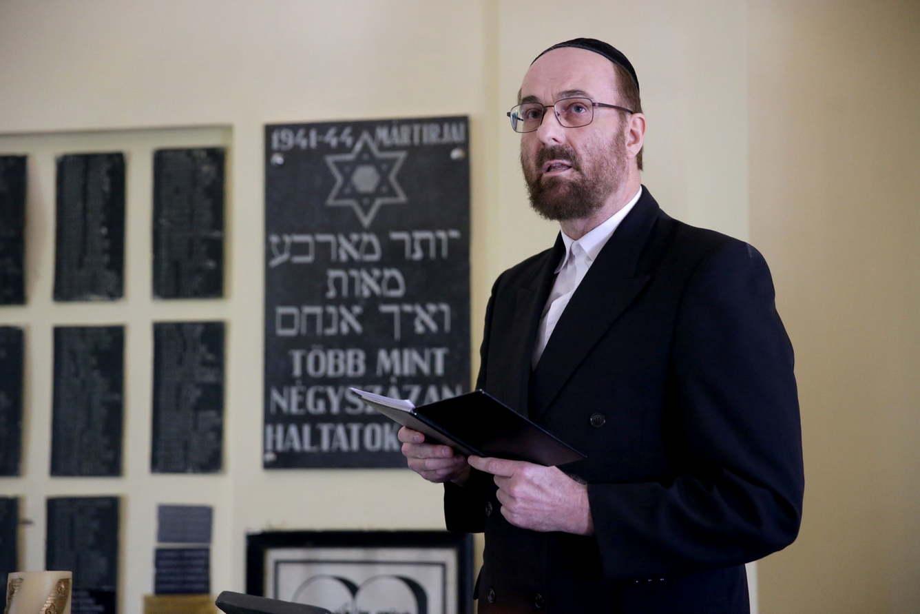 Petrovics Péter neológ rabbi: Az út, amit a Mazsihisz kínál a rabbijainak, elfogadhatatlan