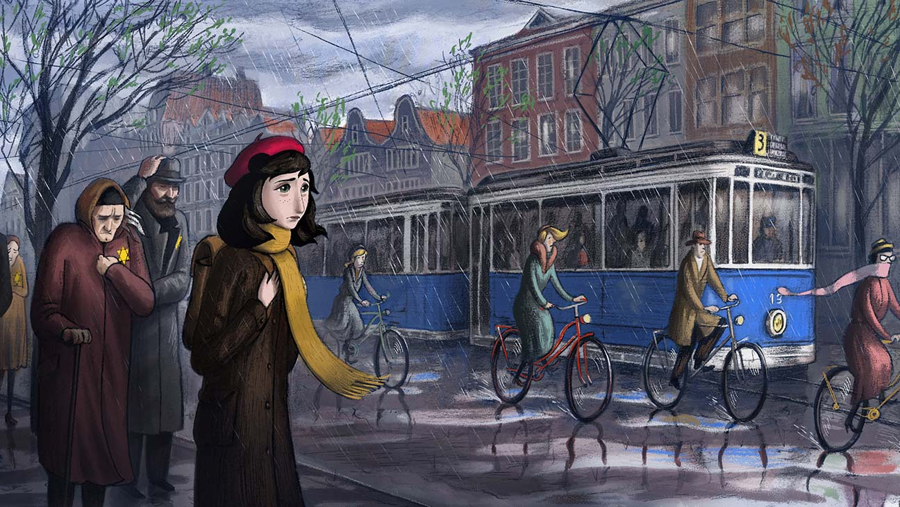 Új animációs Anne Frank filmet mutattak be Cannes-ban