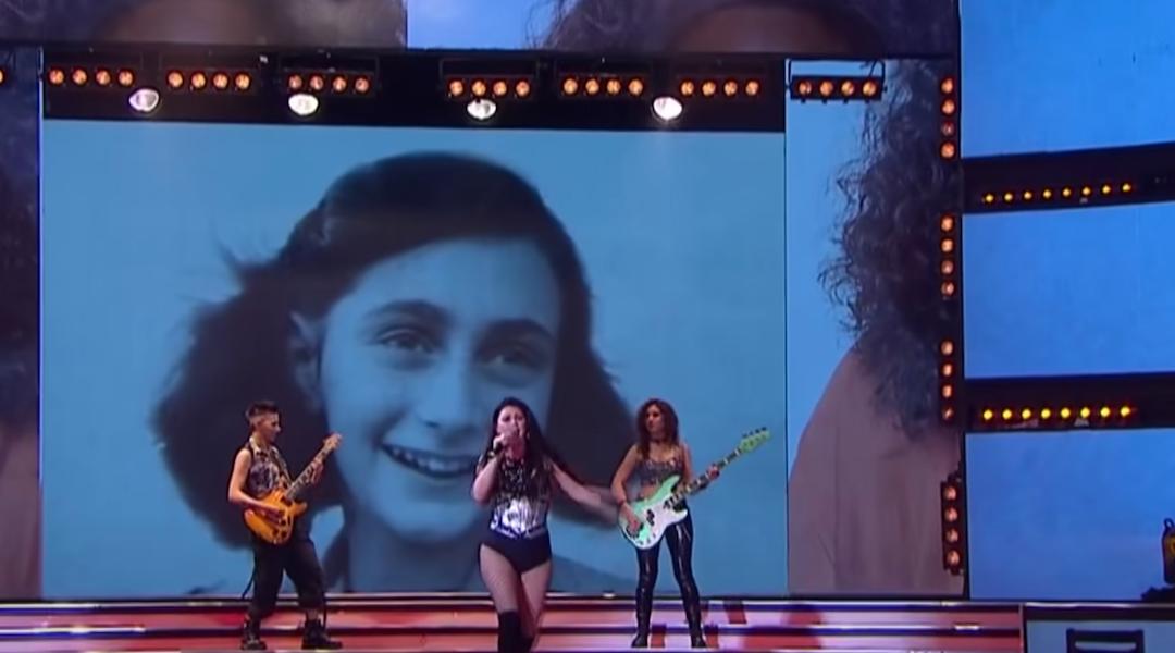 Kegyeletsértő módon Anna Frank képével illusztrálták egy dalt Argentínában, botrány lett belőle