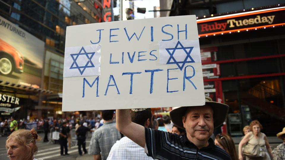 A Capitolium előtt tiltakoznak az antiszemitizmus ellen