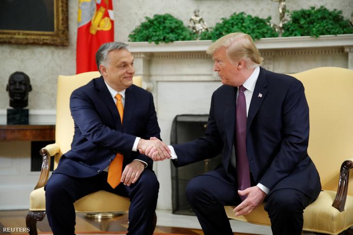Orbán Viktornak írt köszönő levelet Donald Trump