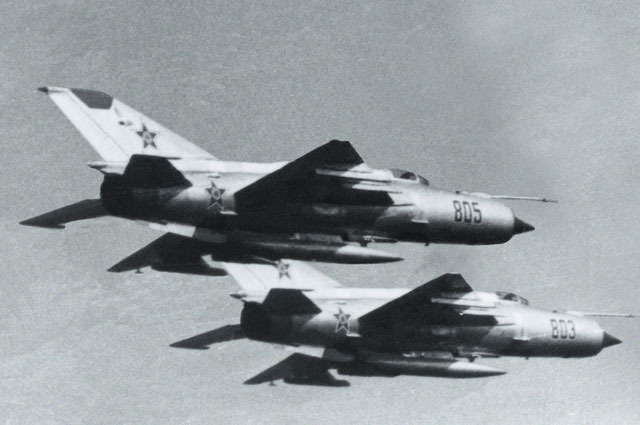 A nap amikor Izrael három perc alatt lelőtt öt szovjet MiG-21-es vadászgépet