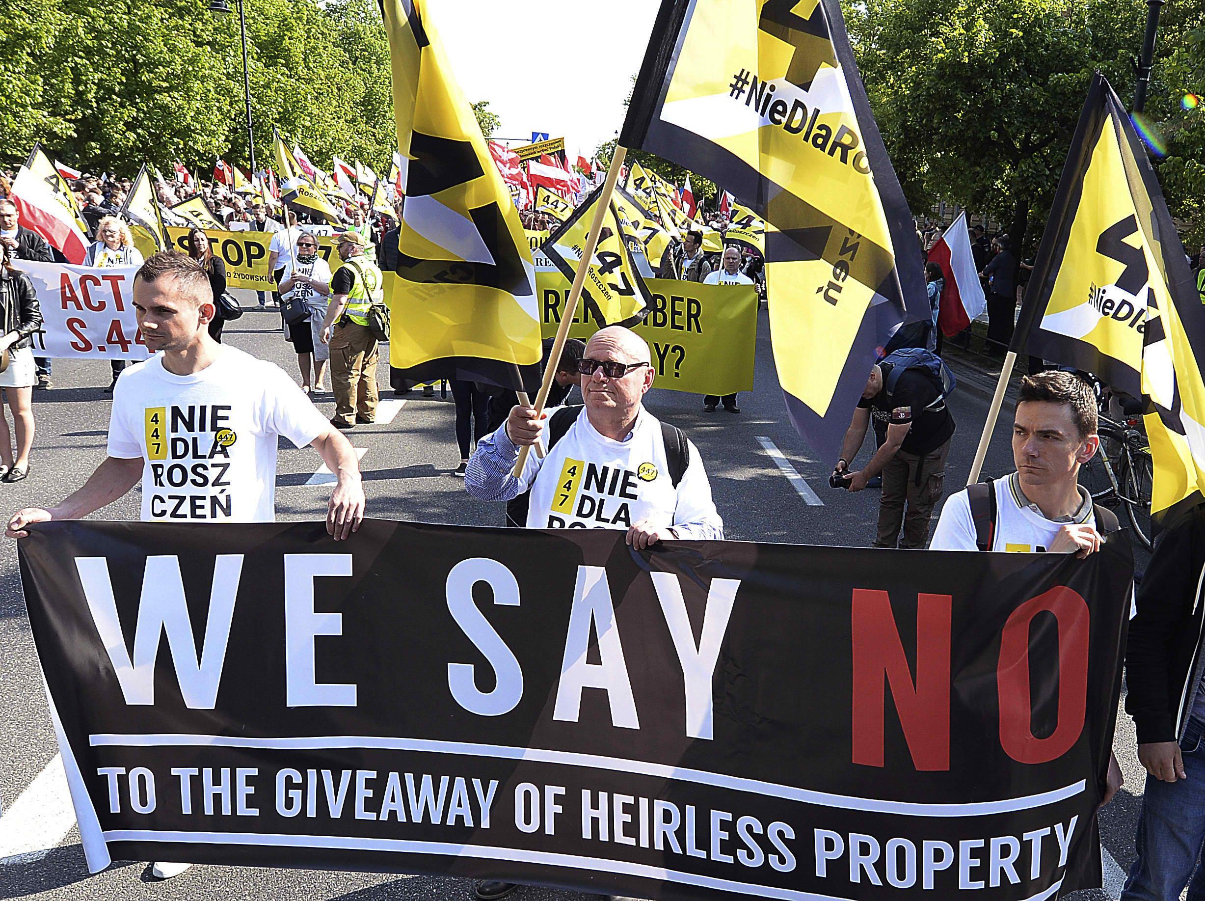 Nagy-Britannia is bírálja a lengyel kárpótlási törvényt