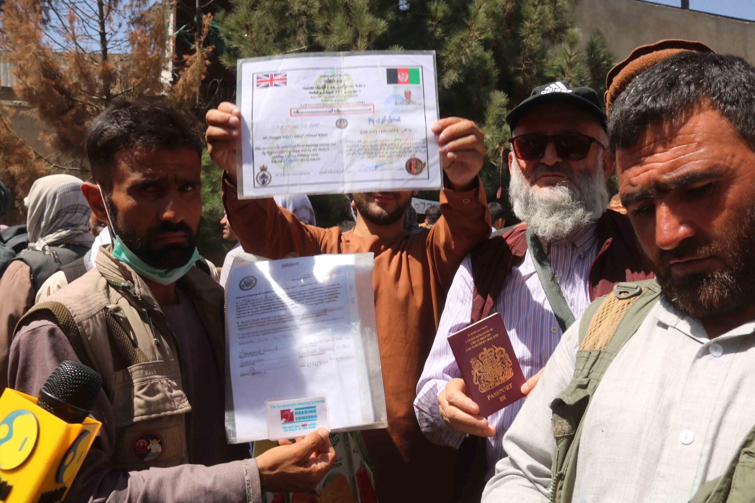 Afganisztánban hagyott amerikai állampolgár: most mi lesz velem?