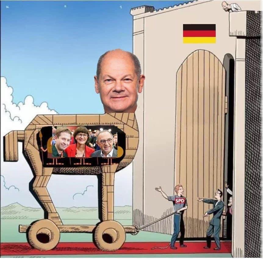 Az új német kancellárjelölt-sztár a szocialista Olaf Scholz