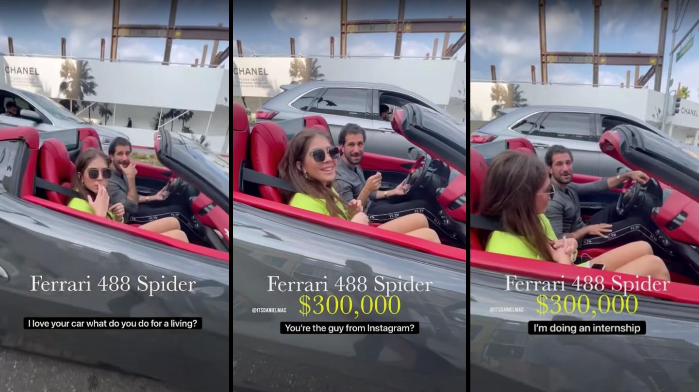 Ferrarival és egy izraeli modellel látták furikázni Bassár el-Aszad unokaöccsét