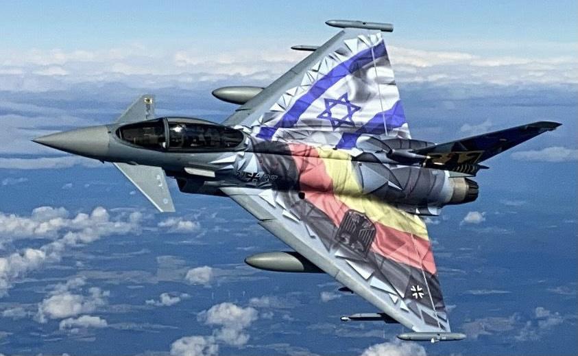 Mit csinál a német Luftwaffe 2021-ben Izraelben?