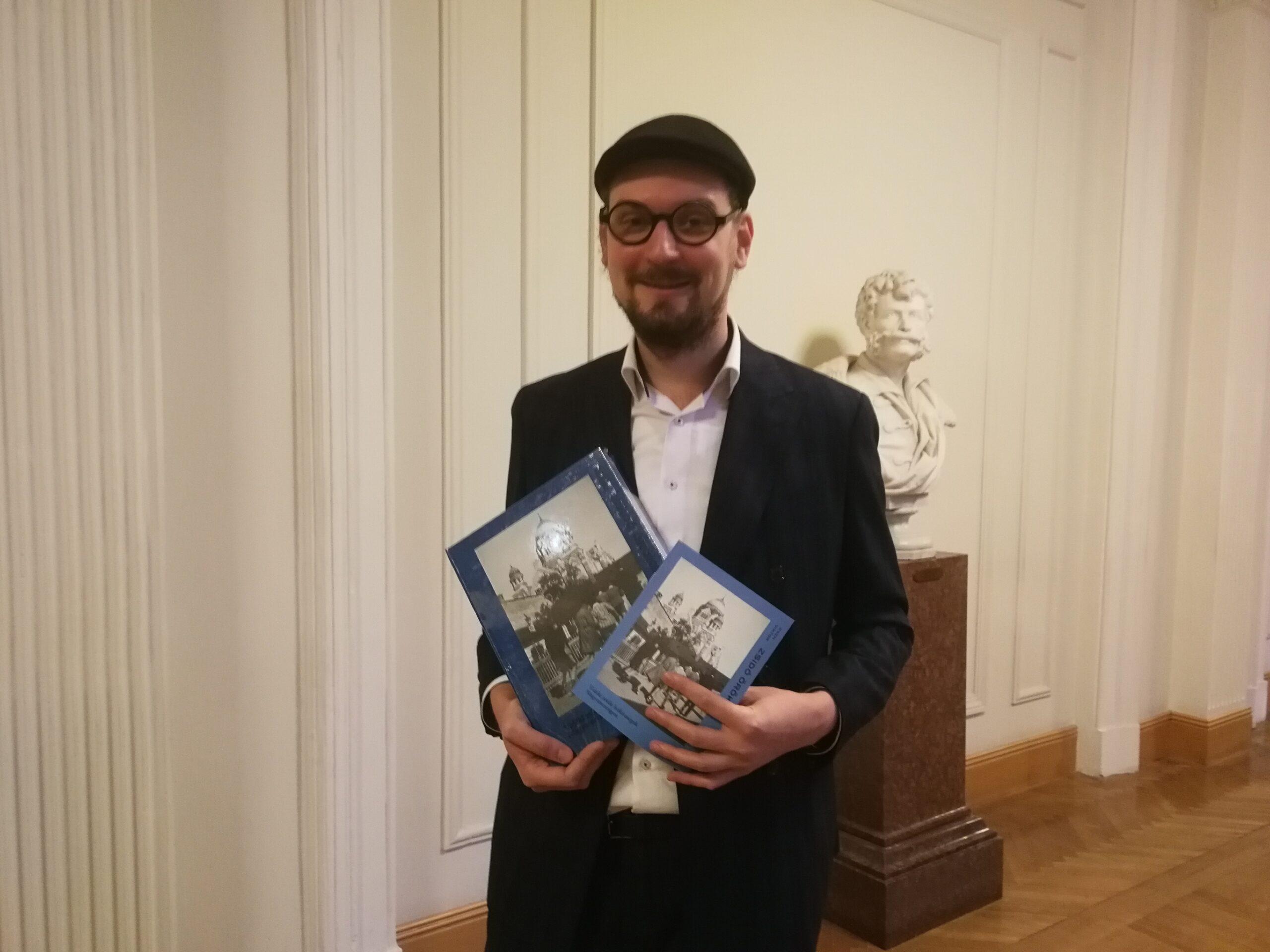 """A zsidóság-kutatás """"új mérföldköve"""" lett Cseh Viktor könyve"""