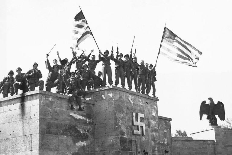 A II. világháború végén az USA és a Szovjetunió versenyt futott a nácik térképeiért