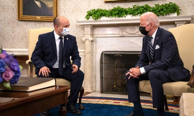 Biden privát üzenetben szólítja fel Bennettet, hogy állítsa le a településépítést